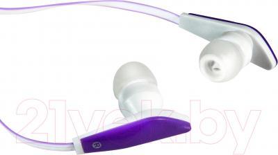 Наушники Defender Trendy-706 / 63706 (бело-фиолетовый)