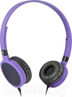 Наушники-гарнитура Defender Accord HN-048 / 63049 (фиолетовый)