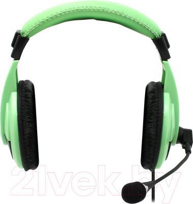 Наушники-гарнитура Defender Gryphon HN-750 / 63749 (зеленый)