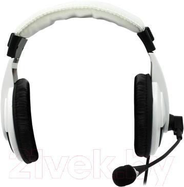 Наушники-гарнитура Defender Gryphon HN-750 / 63747 (белый)