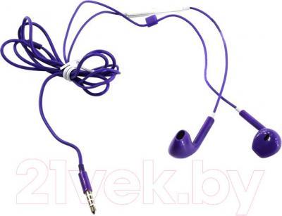 Наушники-гарнитура Defender Lucky MPH-005 / 63018 (фиолетовый)
