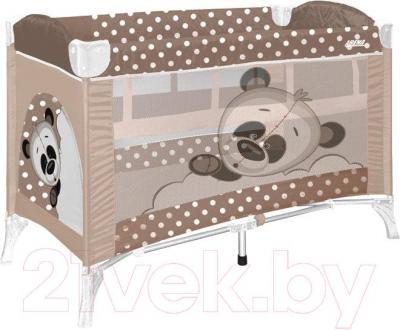 Кровать-манеж Lorelli Arena 2 (Beige Panda)
