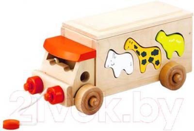 Развивающая игрушка Yunhe Muwanzi Автобус CM-0636