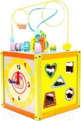 Развивающая игрушка Yunhe Muwanzi Куб YQ-8027