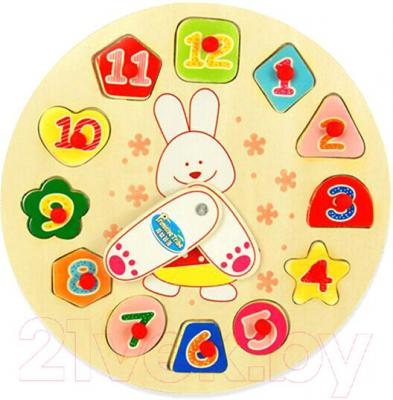 Развивающая игрушка Yunhe Muwanzi Часы OG5667A - циферблат