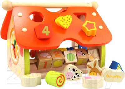 Развивающая игрушка Yunhe Muwanzi Дом HC-0302