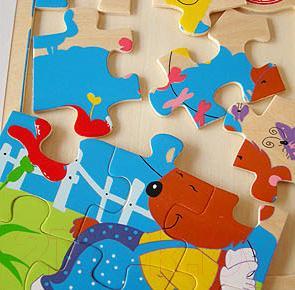 Развивающая игрушка Yunhe Muwanzi Пазл-книга OG5275