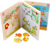 Развивающая игрушка Yunhe Muwanzi Пазл-книга OG5167 -