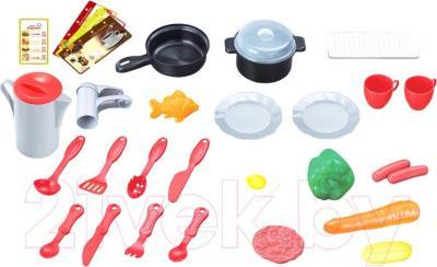 Детская кухня UMU Маленький повар JC-889-03 - вид сзади
