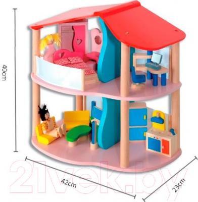Аксессуар для куклы Classic World Кукольный домик CLWT702M - габариты