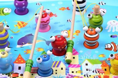 Развивающая игрушка Yunhe Muwanzi 3Д рыбалка WD-1128