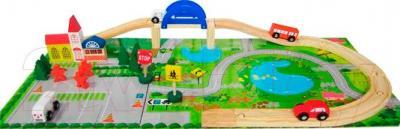 Игровой набор Yunhe Muwanzi Вокзал LJB412-6