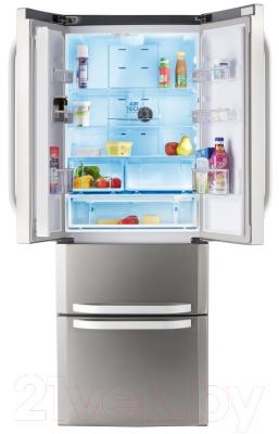 Холодильник с морозильником Hotpoint E4DG AAA X O3