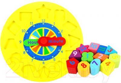 Развивающая игрушка Yunhe Muwanzi Часы TTM-0122