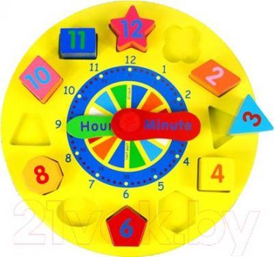 Развивающая игрушка Yunhe Muwanzi Часы TTM-0122 - циферблат