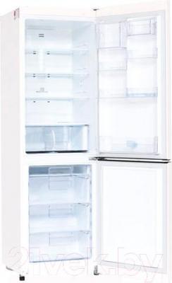 Холодильник с морозильником LG GA-E409SRA