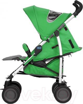 Детская прогулочная коляска Chicco Multiway (Wasabi) - вид сбоку