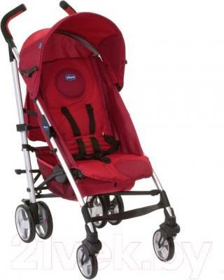 Детская прогулочная коляска Chicco Lite Way Top (красный) - общий вид