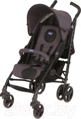 Детская прогулочная коляска Chicco Lite Way Top (антрацит) - общий вид