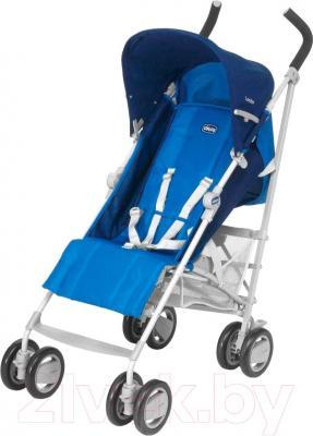 Детская прогулочная коляска Chicco London Up (синий)