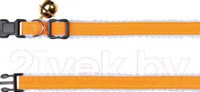 Ошейник Trixie 4164 (с колокольчиком, светоотражающий) - общий вид