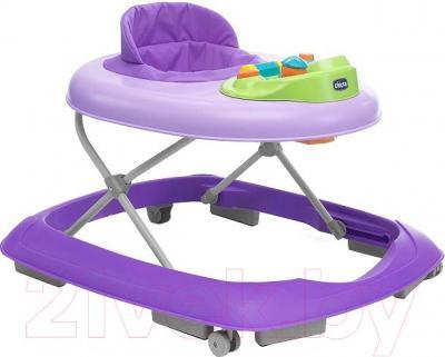 Ходунки Chicco Rainbow Baby Walker (фиолетовый)