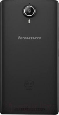 Смартфон Lenovo P90 (черный) - вид сзади