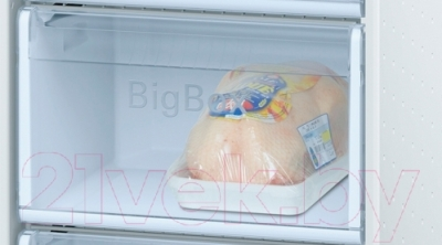 Холодильник с морозильником Bosch KGN39VP15R