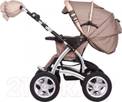 Детская универсальная коляска Geoby C705-X (RKKW) - вид сбоку
