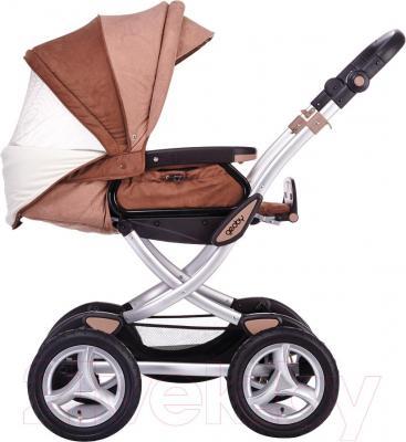Детская универсальная коляска Geoby C706 Lux (RJPH) - вид сбоку