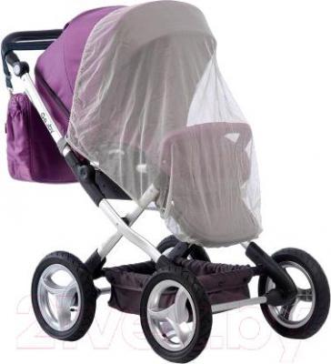 Детская универсальная коляска Geoby C800 (R379) - общий вид с москитной сеткой