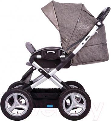 Детская универсальная коляска Geoby C800 Lux (RYHG) - вид сбоку