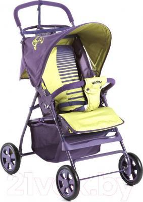 Детская прогулочная коляска Geoby C201GR-X (R357) - общий вид