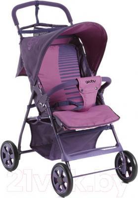 Детская прогулочная коляска Geoby C201GR-X (R358) - общий вид