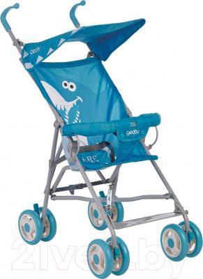 Детская прогулочная коляска Geoby D202A-F (RLHT) - общий вид