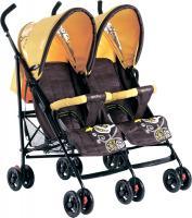 Детская прогулочная коляска Geoby SD209-F (WFHH) -