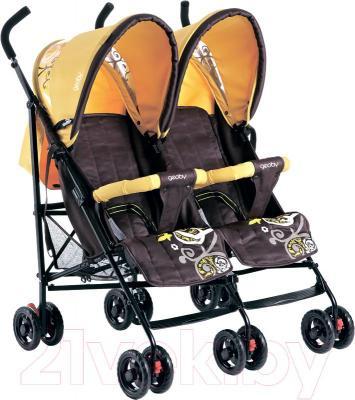 Детская прогулочная коляска Geoby SD209-F (WFHH)