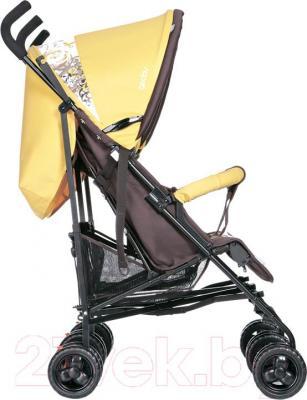 Детская прогулочная коляска Geoby SD209-F (WFHH) - вид сбоку