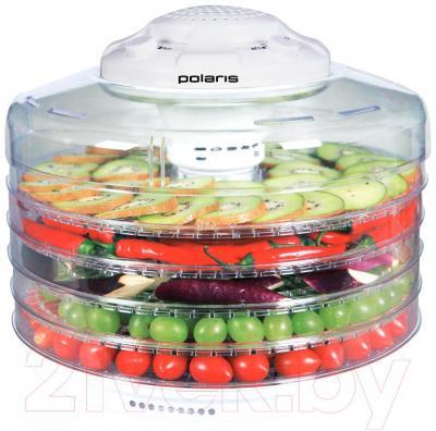 Сушка для овощей и фруктов Polaris PFD 0105AD (белый)