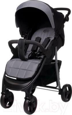 Детская прогулочная коляска 4Baby Rapid (серый) - общий вид