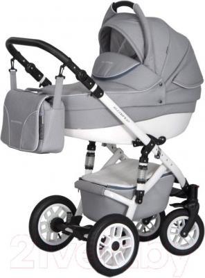 Детская универсальная коляска Expander Essence 2 в 1 (серебристый) - общий вид