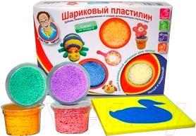 Набор для лепки Доктор Чарли Сохнущий шариковый пластилин с рамкой для лепки