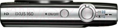 Компактный фотоаппарат Canon IXUS 160 (черный)