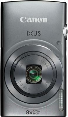 Компактный фотоаппарат Canon IXUS 160 (серебристый)