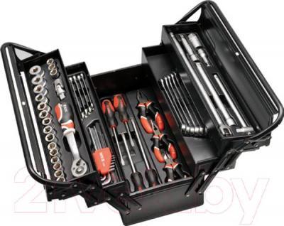 Универсальный набор инструментов Yato YT-3895 (62 предмета) - общий вид