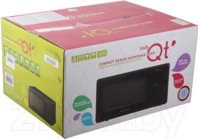 Микроволновая печь Daewoo KOR-5A07B - коробка
