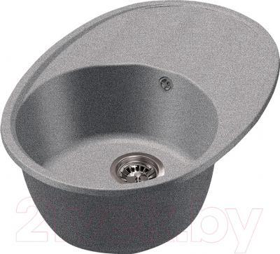 Мойка кухонная Harte H-4568 (серый)