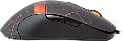 Мышь SteelSeries Call of Duty: Black Ops II Gaming Mouse (62157) - вид сбоку