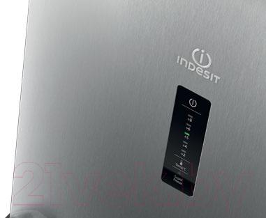 Холодильник с морозильником Indesit DF 5181 XM