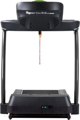 Электрическая беговая дорожка SportsArt T615 (3 HP DC) - вид сзади